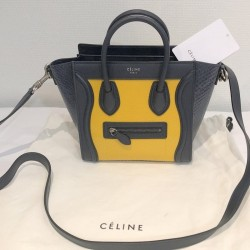 Céline Sac nano luggage...